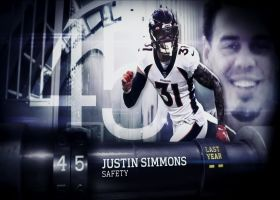 'Top 100 Players of 2021': Justin Simmons | No. 45