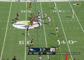 Najee Harris has room to roam on 20-yard rush