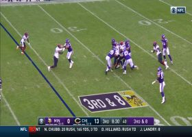 Khalil Mack fights off holding penalty, double team for second sack