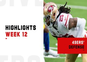 49ers' best defensive plays from strong win | Week 12