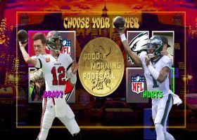 Tom Brady vs. Jalen Hurts: Which QB has more passing yards tonight?