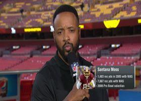 Santana Moss on McLaurin's young career: 'It's not fun' dealing with QB carousel