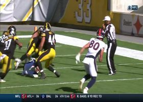 Derek Watt, Steelers turn Broncos' mishandled snap into key safety