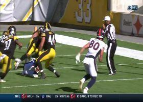 Derek Watt, Steelers turn Broncos' mishandled snap into key safety