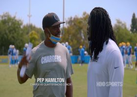 'Hard Knocks': Pep Hamilton has ultimate pep talk for Melvin Ingram's return
