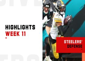 Steelers' best defensive plays from strong win | Week 11