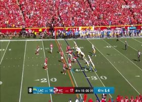 Herbert delivers clutch strike to Allen on fourth-and-4