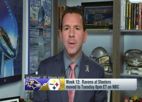 Rapoport, Kinkhabwala: Latest on Ravens-Steelers Week 12 schedule changes