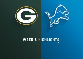 Packers vs. Lions highlights | Week 5