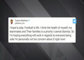 Tyrann Mathieu tweets family health takes precedence over football pay