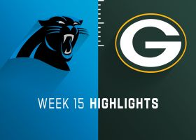Panthers vs. Packers highlights | Week 15