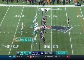 DeVante Parker gets airborne on 24-yard grab