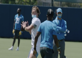 First look: Justin Herbert throws strike at Chargers camp