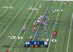 Leonard Williams wraps up Stafford for second sack of the first quarter