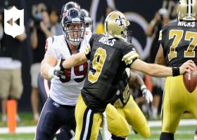 NFL Throwback: J.J. Watt's first 100 sacks
