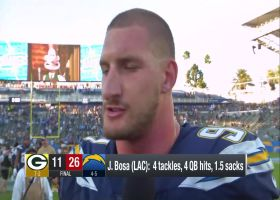 Joey Bosa is AMPED after Bolts' big win over the Packers