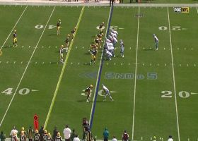 Hockenson finds crease in zone for 29-yard pickup