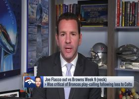 Ian Rapoport: Joe Flacco could miss 'significant' time with neck injury