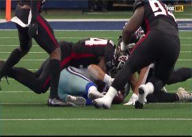 Foye Oluokun forces another Cowboys fumble