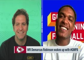 Demarcus Robinson reveals why he chose to re-sign with Chiefs over Lions