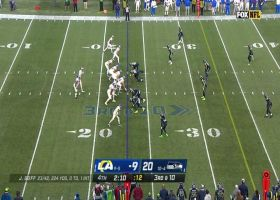 Jarran Reed cleans up Jared Goff for massive third-down sack