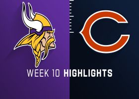 Vikings vs. Bears highlights | Week 10