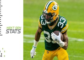 Aaron Jones rushing yards, Packers offense in 2021 | Next Gen Stats