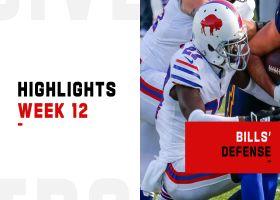 Biggest plays by the Bills' defense   Week 12