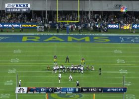 Eddy Pineiro's 48-yard FG try misses wide left