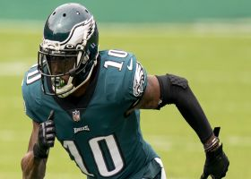 Rapoport reports on injury updates for Eagles' Jackson, Johnson