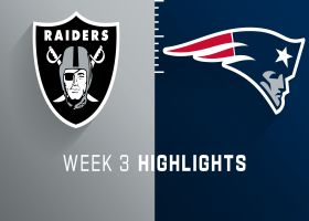 Raiders vs. Patriots highlights | Week 3