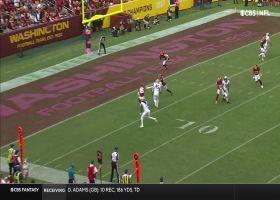 Marquez Callaway left all alone for 12-yard TD grab