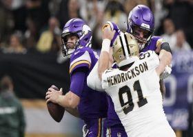 Hendrickson envelops Cousins for massive loss on third-down sack