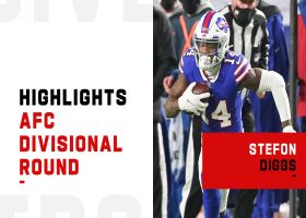 Every catch by Stefon Diggs from 106-yard game | AFC Divisional Round
