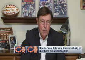 Casserly's advice for Trubisky, Foles in Chicago's QB competition