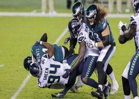 Rasheem Green engulfs Carson Wentz for big third-down sack