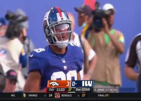 Devontae Booker snags impossible one-handed catch