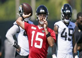 Camp highlight: Minshew dials launch codes to Agnew at Jags camp