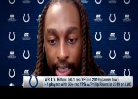 T.Y. Hilton shares how he's building chemistry with Philip Rivers