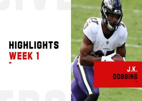 Every J.K. Dobbins touch from 2-TD NFL debut | Week 1