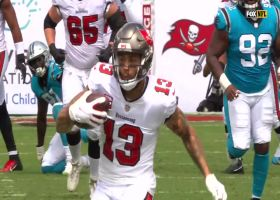 Tom Brady finds Mike Evans deep for 50-yard pickup