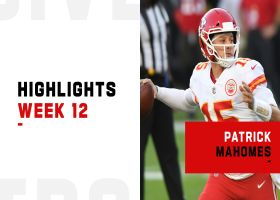 Patrick Mahomes' best throws from 3-TD game | Week 12