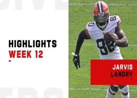 Every catch by Jarvis Landry from 143-yard game | Week 12