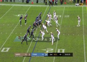 Saints' blitz gets home to drop Tannehill for big loss