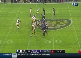 Diontae Johnson beats Marcus Peters for impressive 21-yard grab