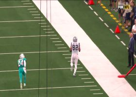 Prescott buys time to hit Witten down the sideline for HUGE third-and-long pickup