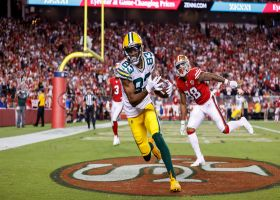 Rodgers tosses beautiful red-zone dime to Valdes-Scantling for 12-yard TD