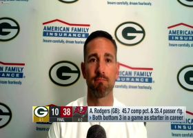 LaFleur: Packers' practices leading up to Bucs game were 'not up to our standard'