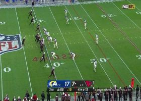 KeeSean Johnson showcases wingspan on fourth-down stretch for the chains