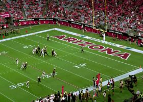 360-degree look at Todd Davis' pick-six vs. Josh Rosen | True View